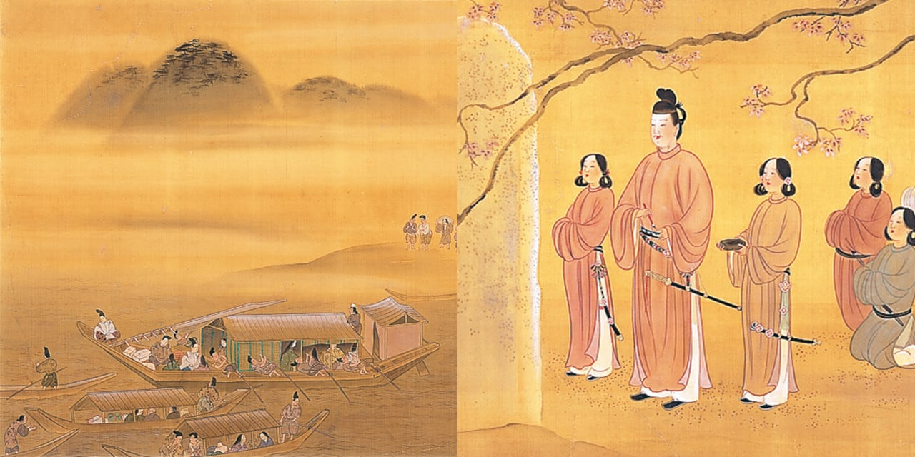 飛鳥時代・聖徳太子の来浴の伝承、熟田津の歌