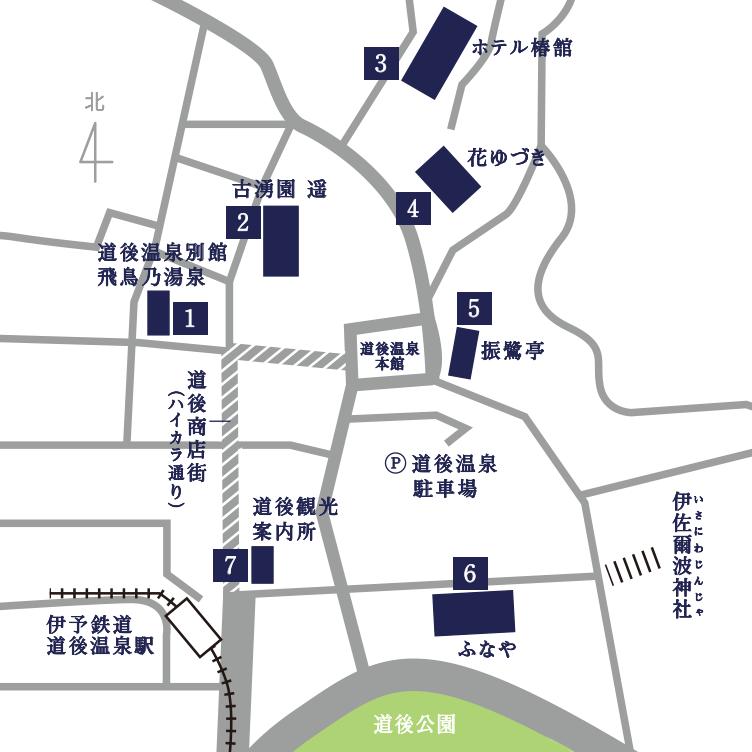 展示施設 地図